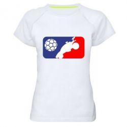 Жіноча спортивна футболка Rocket League blue and red
