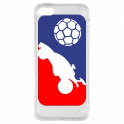Чохол для iphone 5/5S/SE Rocket League blue and red