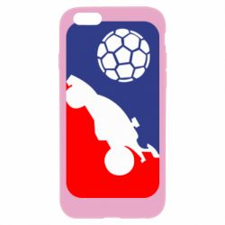 Чохол для iPhone 6/6S Rocket League blue and red