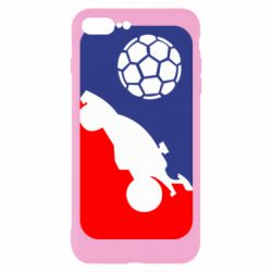 Чохол для iPhone 7 Plus Rocket League blue and red
