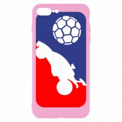 Чохол для iPhone 8 Plus Rocket League blue and red