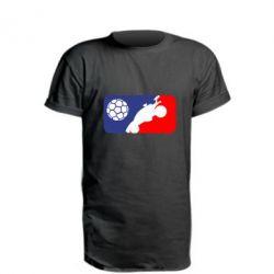 Подовжена футболка Rocket League blue and red