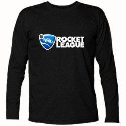 Футболка з довгим рукавом Rocket League logo