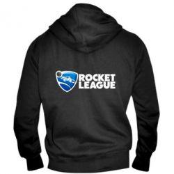 Чоловіча толстовка на блискавці Rocket League logo