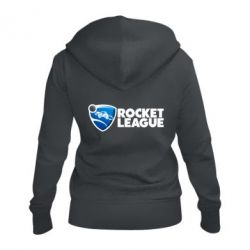 Жіноча толстовка на блискавці Rocket League logo