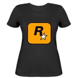 Жіноча футболка Rockstar Games logo
