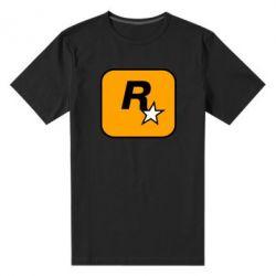 Чоловіча стрейчева футболка Rockstar Games logo