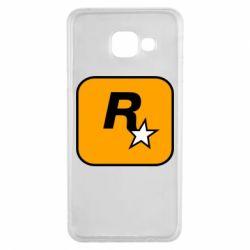 Чохол для Samsung A3 2016 Rockstar Games logo