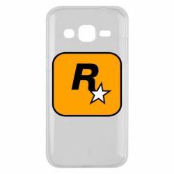Чохол для Samsung J2 2015 Rockstar Games logo