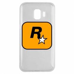 Чохол для Samsung J2 2018 Rockstar Games logo