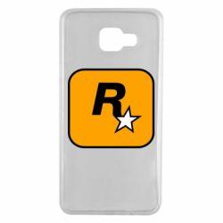 Чохол для Samsung A7 2016 Rockstar Games logo
