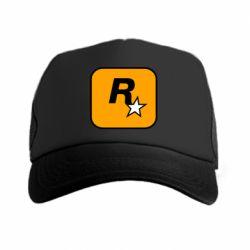 Кепка-тракер Rockstar Games logo