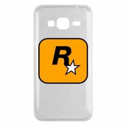 Чохол для Samsung J3 2016 Rockstar Games logo