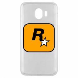Чохол для Samsung J4 Rockstar Games logo