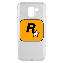 Чохол для Samsung J6 Rockstar Games logo