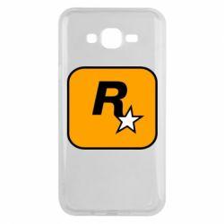 Чохол для Samsung J7 2015 Rockstar Games logo