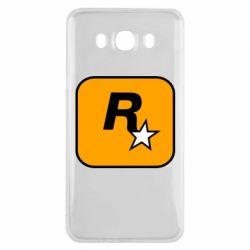 Чохол для Samsung J7 2016 Rockstar Games logo