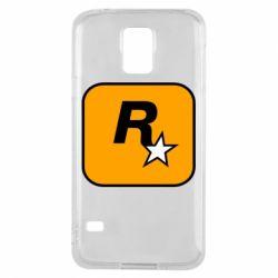 Чохол для Samsung S5 Rockstar Games logo