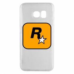Чохол для Samsung S6 EDGE Rockstar Games logo