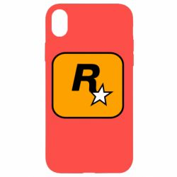 Чохол для iPhone XR Rockstar Games logo
