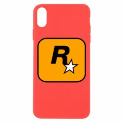 Чохол для iPhone Xs Max Rockstar Games logo
