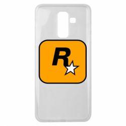 Чохол для Samsung J8 2018 Rockstar Games logo