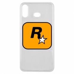 Чохол для Samsung A6s Rockstar Games logo
