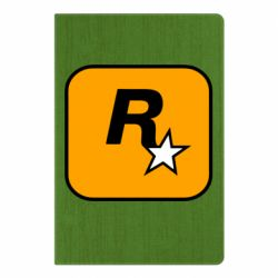 Блокнот А5 Rockstar Games logo