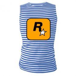 Майка-тільняшка Rockstar Games logo