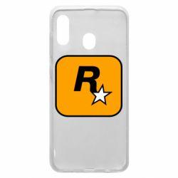 Чохол для Samsung A20 Rockstar Games logo