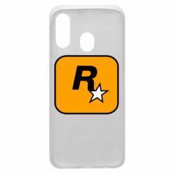Чохол для Samsung A40 Rockstar Games logo