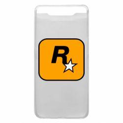 Чохол для Samsung A80 Rockstar Games logo