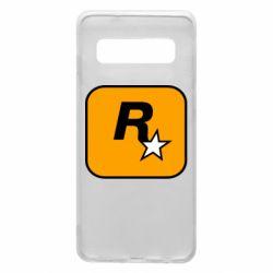 Чохол для Samsung S10 Rockstar Games logo