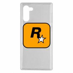 Чохол для Samsung Note 10 Rockstar Games logo