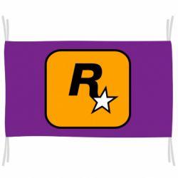 Прапор Rockstar Games logo
