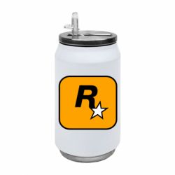 Термобанка 350ml Rockstar Games logo
