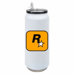 Термобанка 500ml Rockstar Games logo