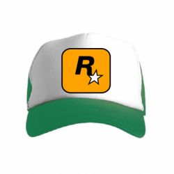 Дитяча кепка-тракер Rockstar Games logo