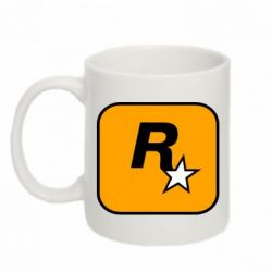 Кружка 320ml Rockstar Games logo