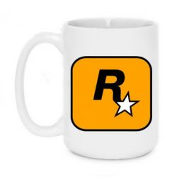 Кружка 420ml Rockstar Games logo