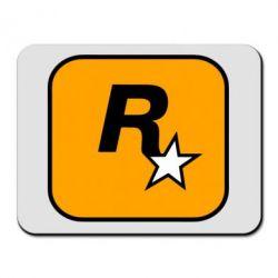 Килимок для миші Rockstar Games logo