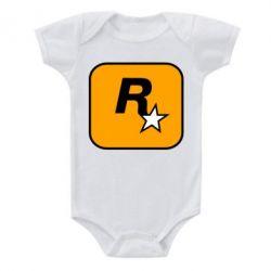 Дитячий бодік Rockstar Games logo