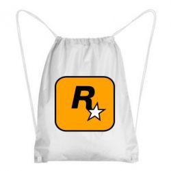 Рюкзак-мішок Rockstar Games logo