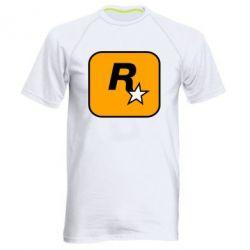 Чоловіча спортивна футболка Rockstar Games logo