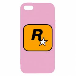 Чохол для iphone 5/5S/SE Rockstar Games logo