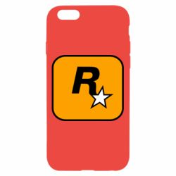 Чохол для iPhone 6/6S Rockstar Games logo