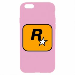 Чохол для iPhone 6 Plus/6S Plus Rockstar Games logo