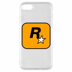 Чохол для iPhone 7 Rockstar Games logo