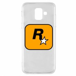 Чохол для Samsung A6 2018 Rockstar Games logo