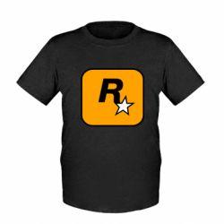 Дитяча футболка Rockstar Games logo